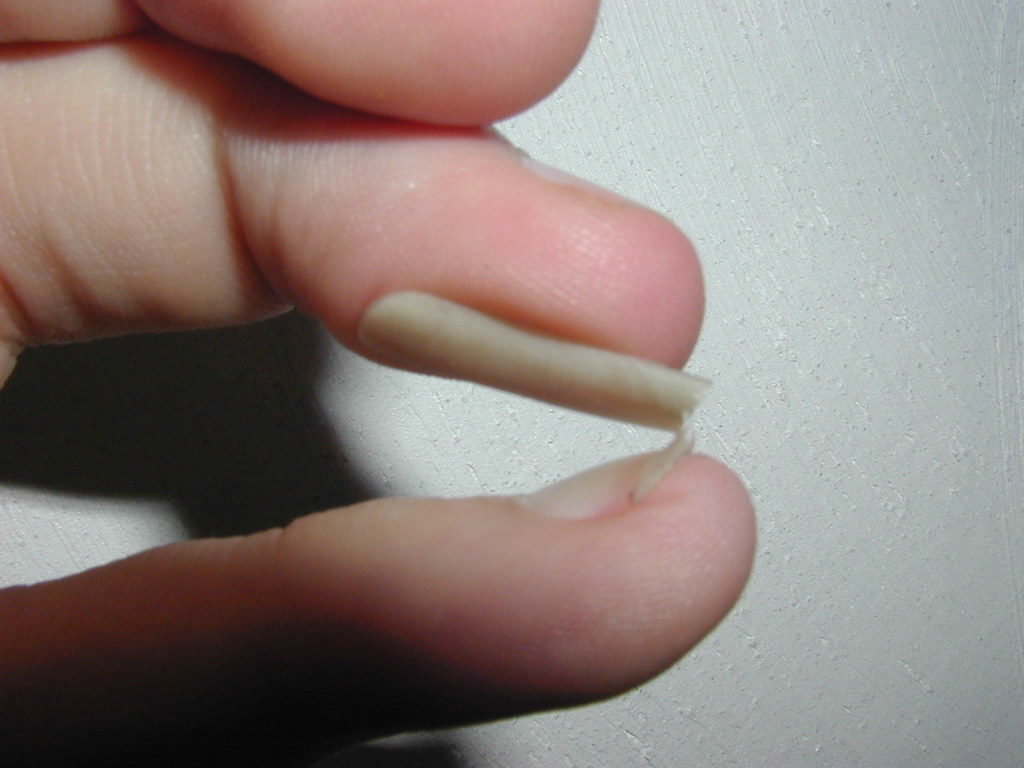 my long pinky nail folded all the way back | Thomas Stromberg | Flickr