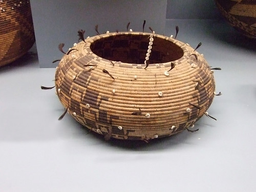 Native American Storage Baskets Pomo Tribe Of Northern Cal