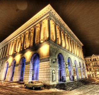 A Snowy Night at the Kiev Opera House | by Trey Ratcliff