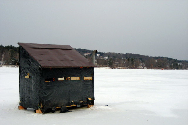 Ice Fishing Huts Car Tuning