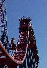 Superman: Ride of Steel - Six Flags America | by The Coaster Critic