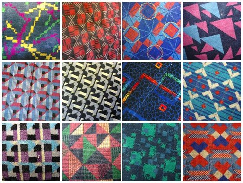Mosaic of london tube moquettes munksynz flickr for London underground moquette