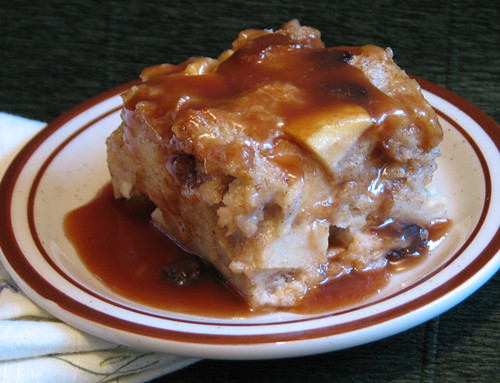 PAD 2007 - 7 Apple Bread Pudding w/Caramel Rum Sauce | by chef@isimmer