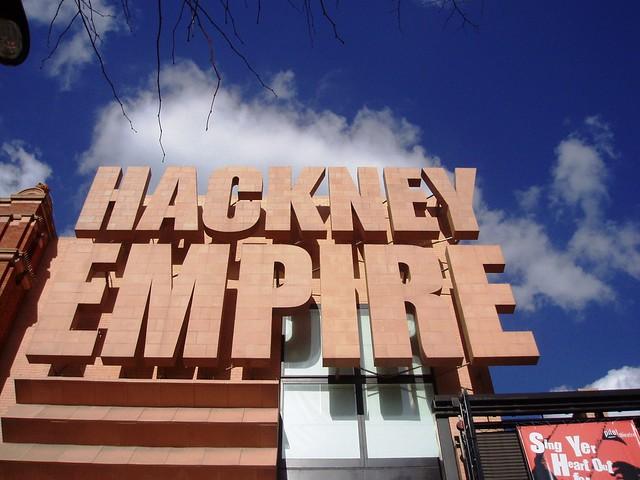 Side By Side >> Hackney Empire, Hackney, E8 | The Hackney Empire sign, a mod… | Flickr