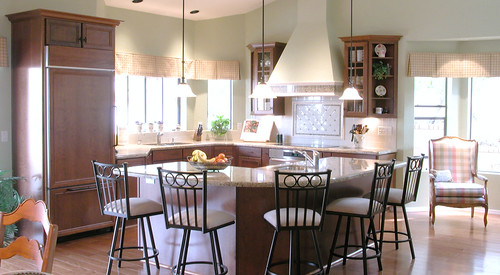 Arabesque Backsplash Kitchen
