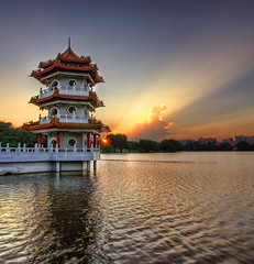 Pagoda at Sunset | by DanielKHC