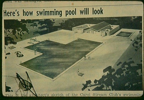 Carol Stream Swimming Pool The Original Swimming Pool Stil Flickr