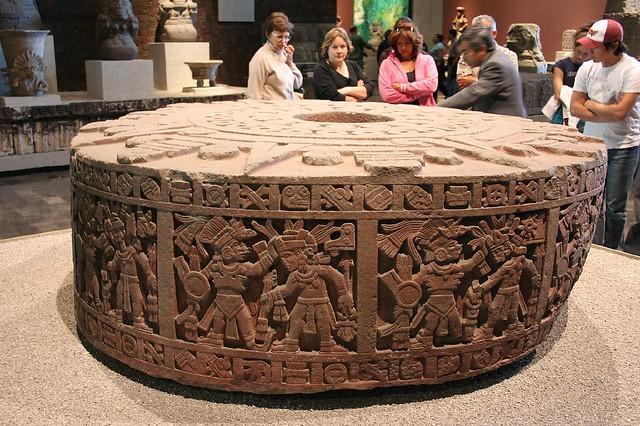 Sacrificial Altar StoneAztec Sacrificial Altar