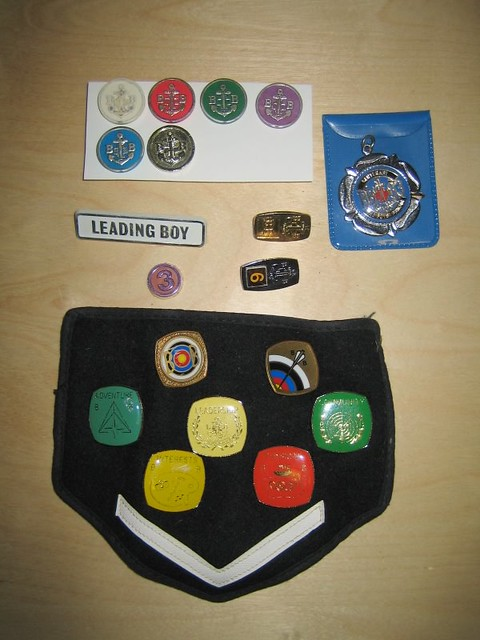 boys brigade badges
