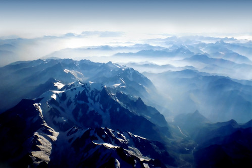 Mountains From Sky Alps Swiss And Italy Alpi Svizzer