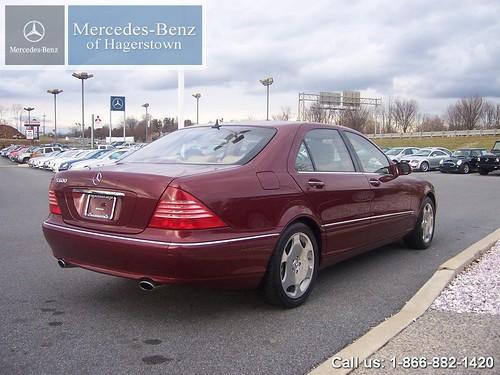 2003 mercedes benz s600 v12 bordeaux red 2003 mercedes for Mercedes benz s 600 v12