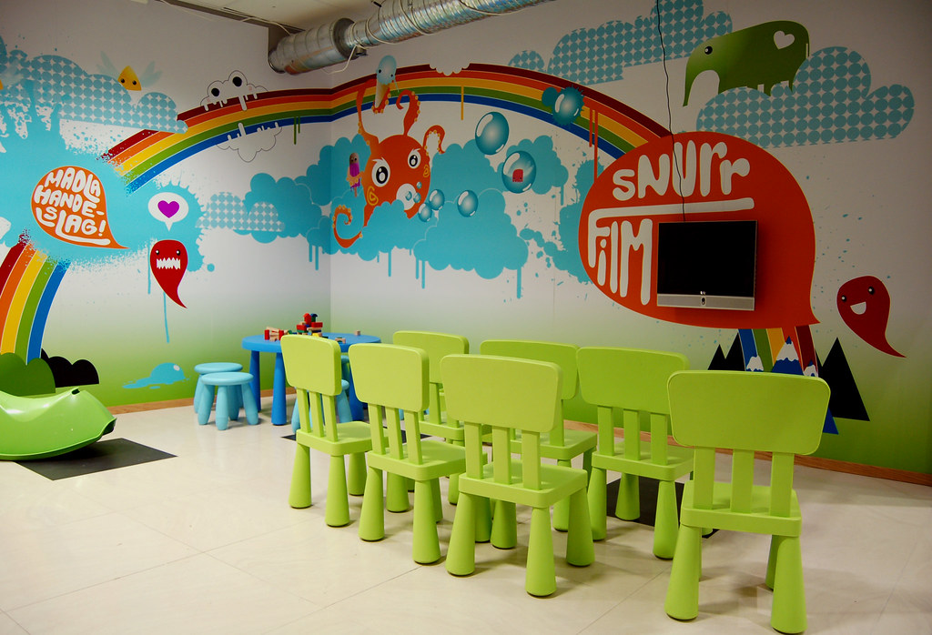 Childrens Playrooms children's playroom | me and my friend solveiig designed the… | flickr