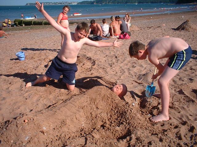 beach burial