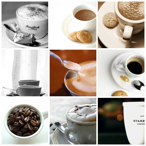9 coffe favorites | by visualpanic