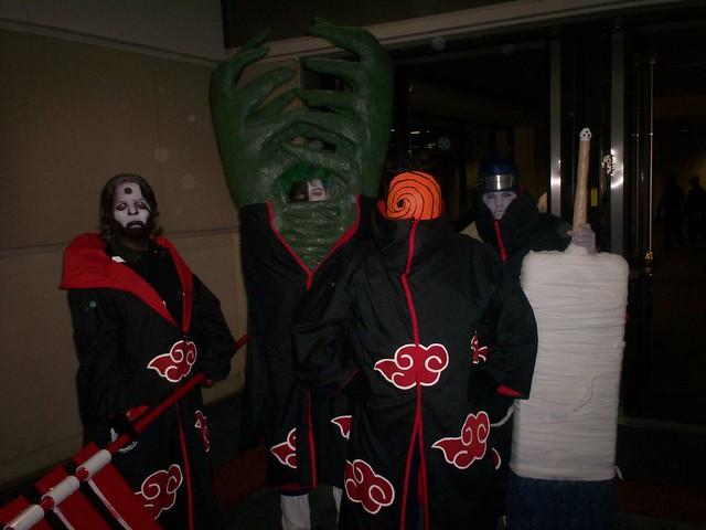 ?, Zetsu, and Tobi Cosplay | Various Akatsuki Gang Members ...