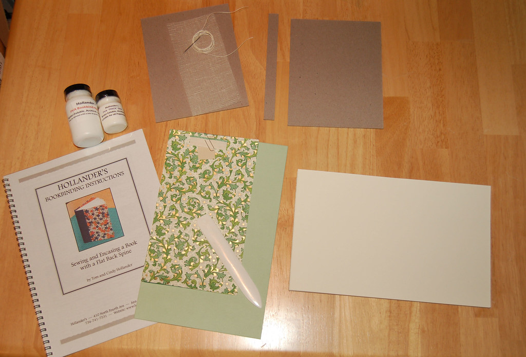 How To Make A Book Kit : Book making kit kerri flickr