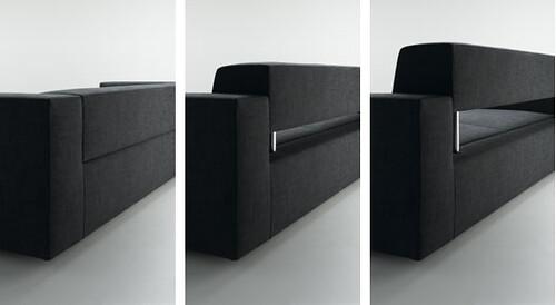 ... MDF ITALIA   SLIDING Sofa | By G A I L E