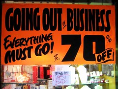 Going out of Business Everything must go! | by Maulleigh
