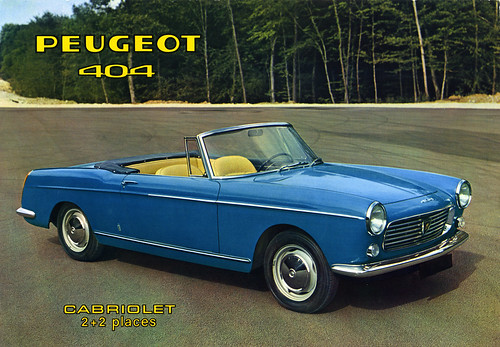 1961 brochure Peugeot 404 Cabriolet | by Jan Sluijter