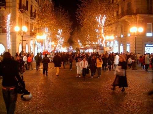 christmas on street