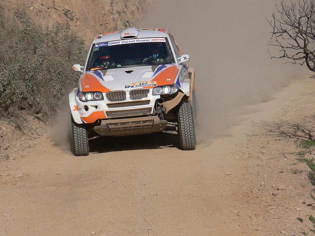 Dakar 2007 Ss2 Odelouca Bmw X3 Jutta Kleinschmidt Thina