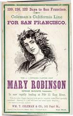 MARY ROBINSON for San Francisco