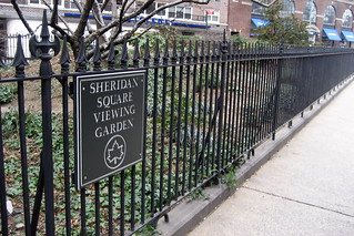 NYC - West Village: Sheridan Square Viewing Garden | by wallyg