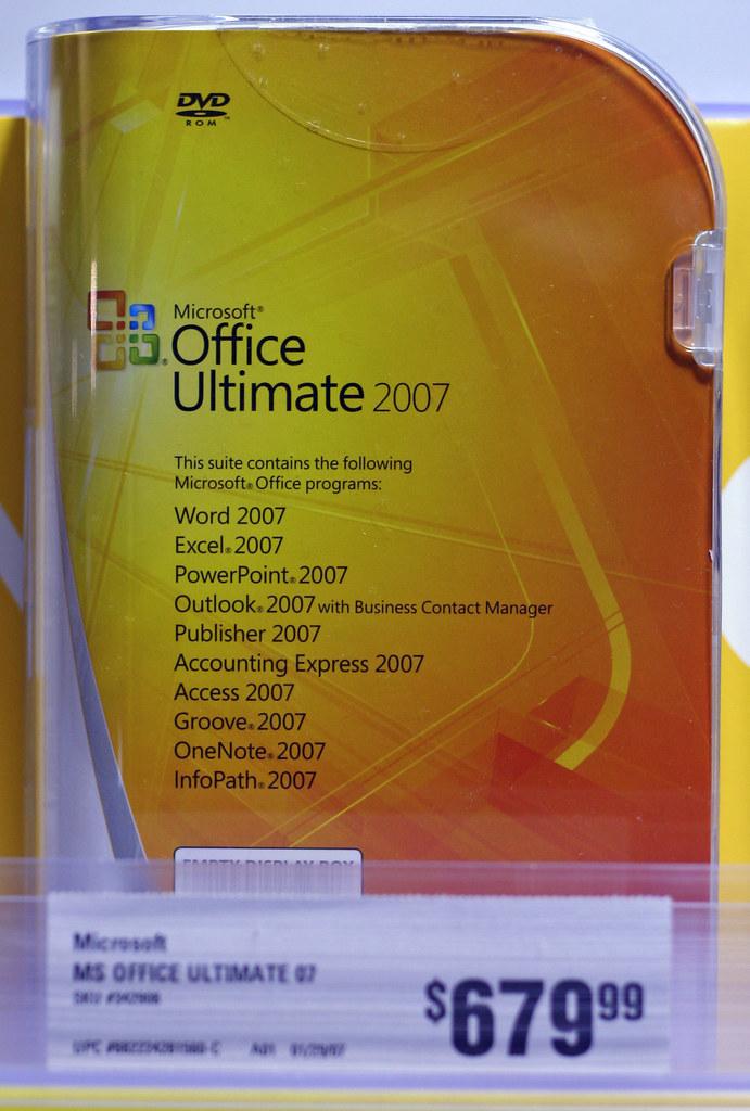 microsoft office 2007 sale