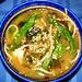 Victor's miso-tofu-seaweed-soba noodle soup