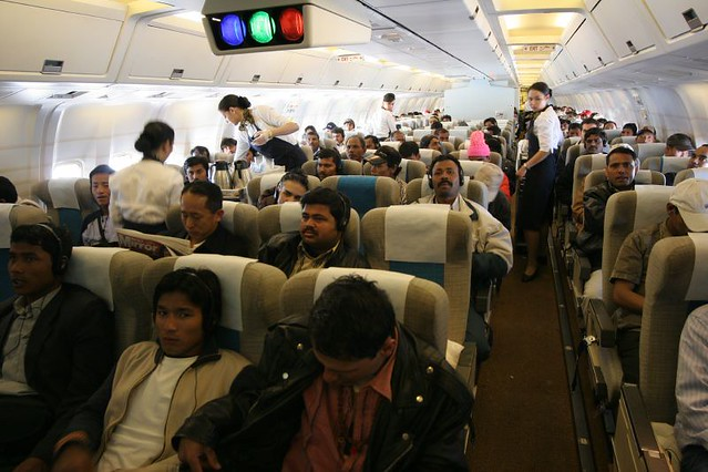 Gulf Air Economy Class Bahrain To Kathmandu Odd To Say