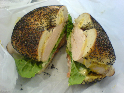 Turkey on Poppyseed with Everything | by clotilde