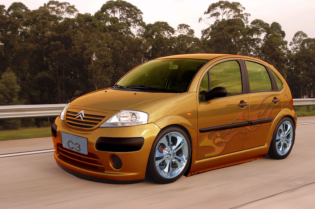 citroen c3 virtual tuning feito no photoshop cs2 flickr. Black Bedroom Furniture Sets. Home Design Ideas