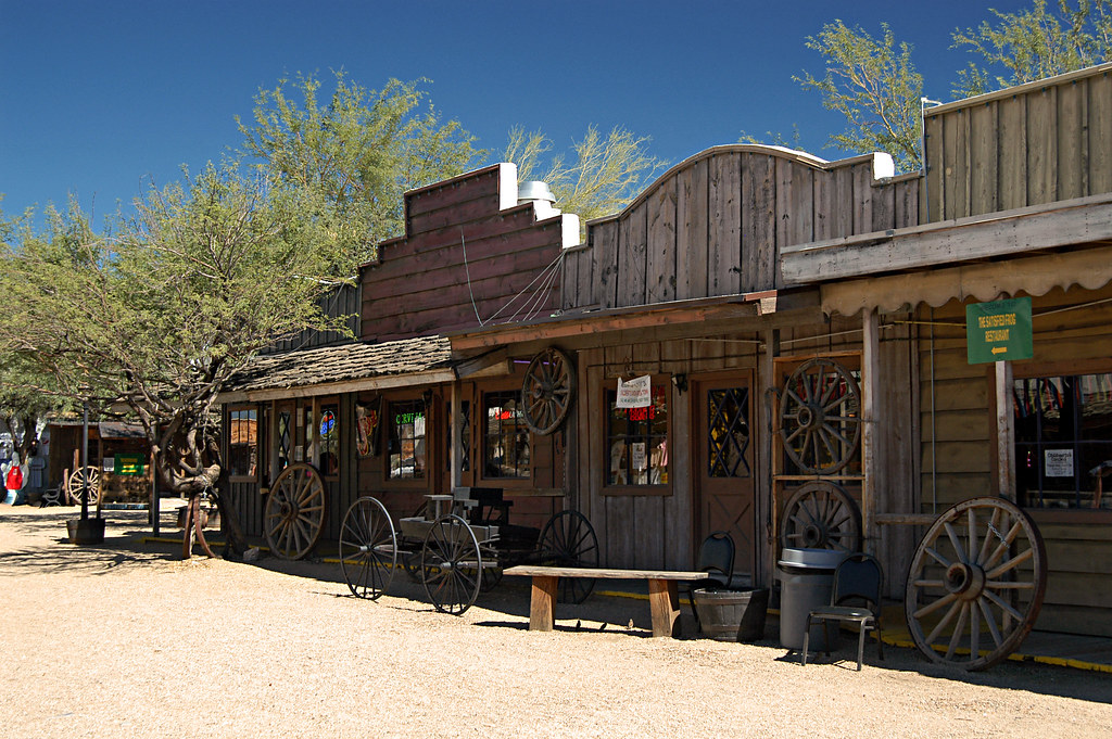 Frontier Town Cave Creek Az Mike Park Flickr