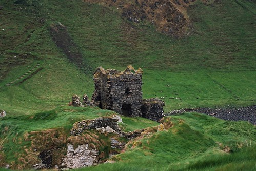 Kinbane Castle Ireland. | by ironbed