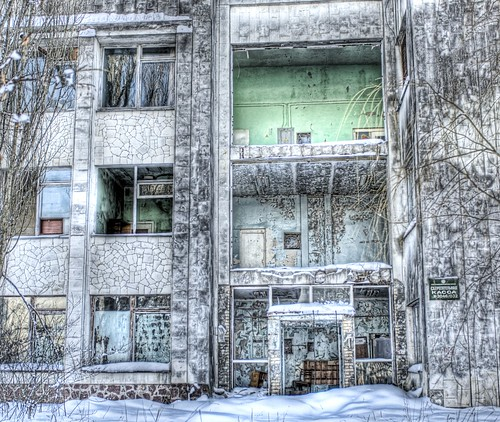 My Chernobyl Adventure part 2:  The Empty School | by Stuck in Customs