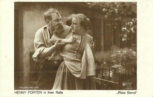Henny Porten in Rose Bernd