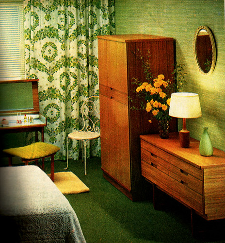 Bedroom On A Budget 1960s Family Circle Linzie Hunter Flickr