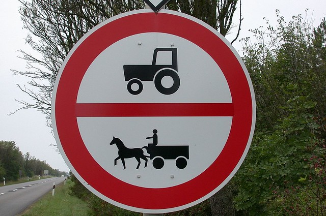 Horse Road Sign Road Signs Hungary no