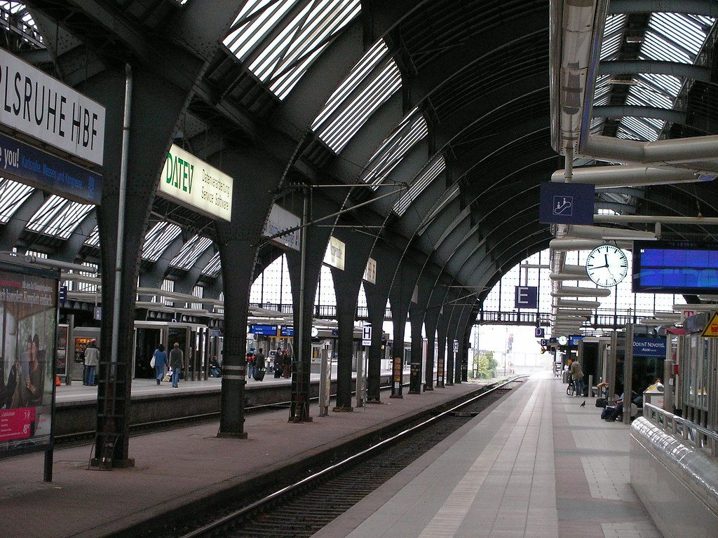 Parkhaus Hauptbahnhof Karlsruhe