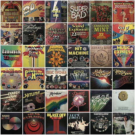 K-Tel - Vinyl Collection 34 Albums (2018)