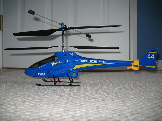 Elicottero E Flite Blade Cx2 : E flite blade cx with police body flickr photo sharing
