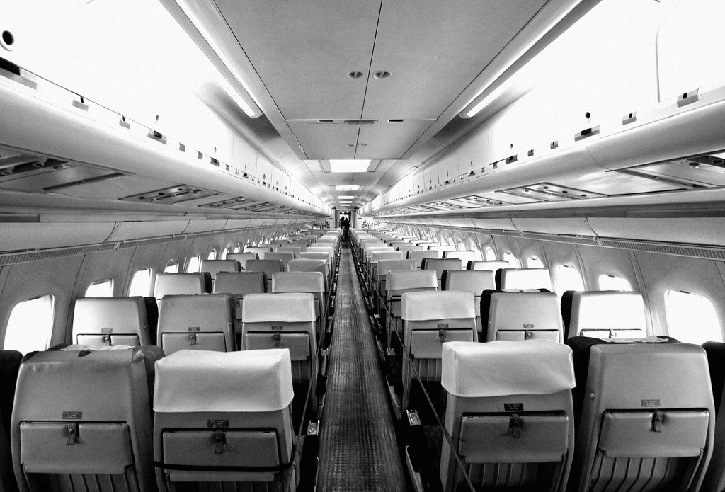 BOAC-Cunard, Vickers Super VC-10 1151 interior | Large on