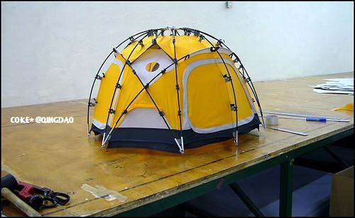 ... cute mini tent model | by Coke* & cute mini tent model | Esther | Flickr