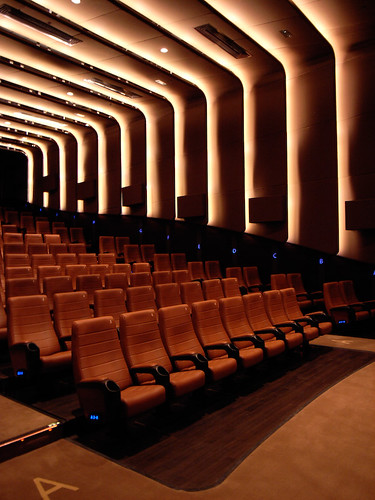 Cinema Auditorium Interior 3