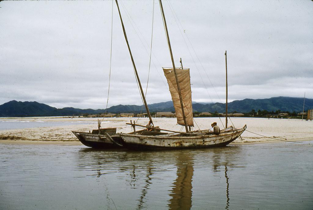 1960 kangnung south korea fishing boats fishing boats for Free fishing boats