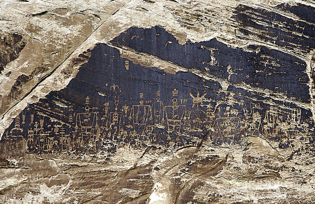 Big Kachina Panel | Big Kachina Panel, San Juan River ...