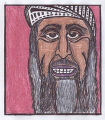 "Osama bin Laden | by Mike ""Dakinewavamon"" Kline"