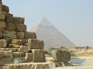 Pyramid of Khafre | by Helena Pugsley