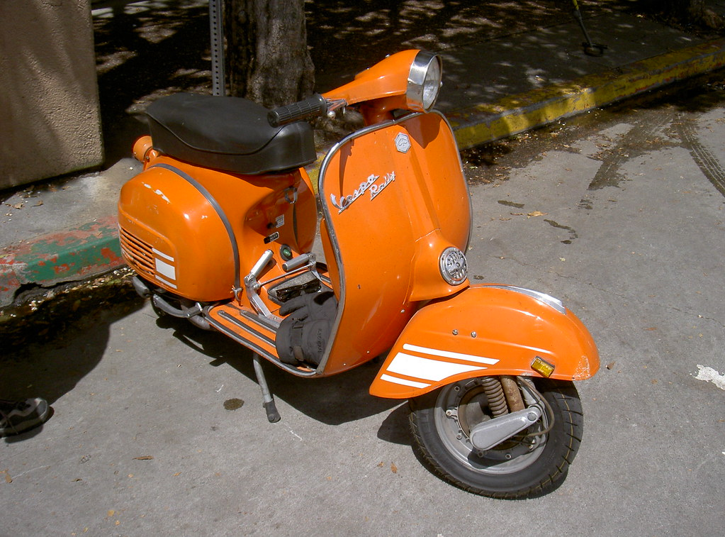 a very nice 1972 vespa rally 200 one of the most sought. Black Bedroom Furniture Sets. Home Design Ideas