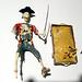 disney pirates of the carabean models